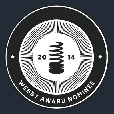 Official vector logo of the Webby Awards